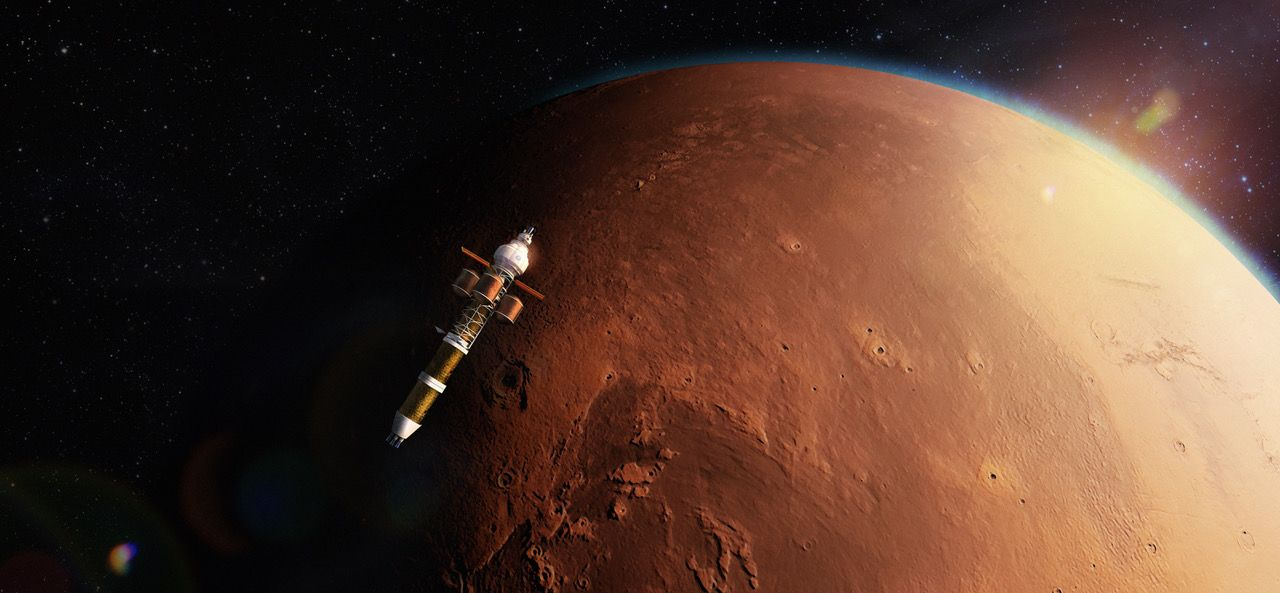 Perseverance: Powering Today's Research For Tomorrow's Communities On Mars With Nuclear
